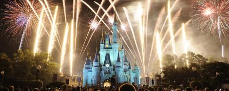 ano novo na Disney