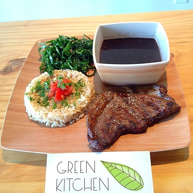 Green Kitchen Kirkman