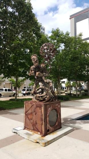 Estatua em Tampa
